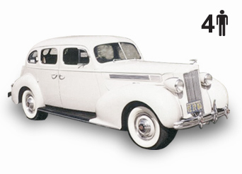 exterior of 1939 Packard